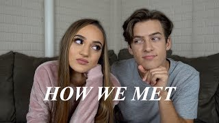 OUR FIRST KISS STORY & HOW WE MET!