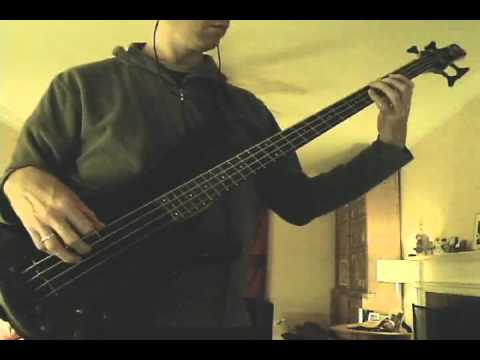 Duran Duran - Of Crime And Passion - bass cover
