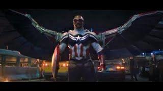 Captain America/Sam Wilson(MCU)Powers and Fight Scenes