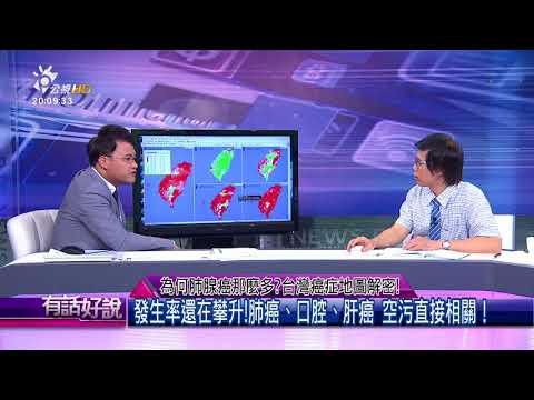為何肺腺癌那麼多?台灣癌症地圖解密!(有話好說)