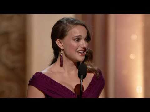 Natalie Portman winning Best Actress - YouTube