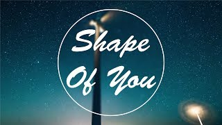 Ed Sheeran - Shape Of You (Marshmello Remix) [Official video]