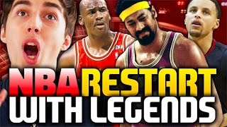 WHAT IF THE NBA RESTARTED WITH LEGENDS? NBA 2K16 MY LEAGUE