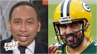 Stephen A. explains why 'bad man' Aaron Rodgers is the best player in the NFL right now | First Take