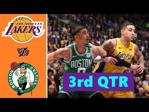 Los Angeles Lakers vs. Boston Celtics Full Highlights 3rd Quarter   NBA Season 2021