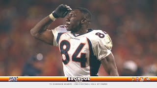 Shannon Sharpe 'changed the way we look at football today' | Broncos Top 100