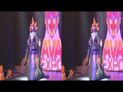 (3D) Cosplay Dota 2, Naga Siren