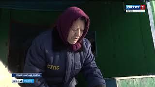 В селе Петровка Калачинского района в течение трёх дней сгорело два дома