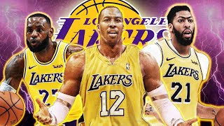 Lakers PERFECT Starting Lineup After Signing Dwight Howard - LeBron James Starting At PG!