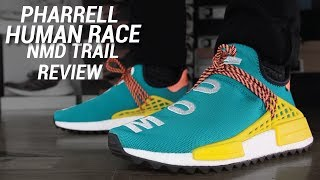 ADIDAS PHARRELL HUMAN RACE NMD TRAIL REVIEW