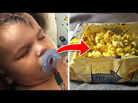 Little Boy Develops Rare Condition After Eating Popcorn - Now Mom Is Warning Other Parents