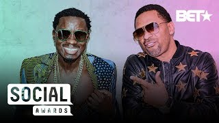 Michael Blackson & Mike Epps Takeover BET's LA Offices