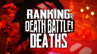 Every Death in DEATH BATTLE Ranked