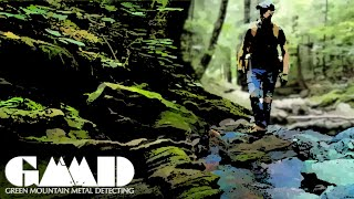 Trek Up a Mountain Stream to Find Treasure and Adventure   Metal Detecting