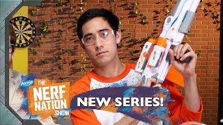NERF Top Shots 🍕 w/ Zach King, Kirsten Collins & Jamie Costa | The NERF Nation Show Episode 8