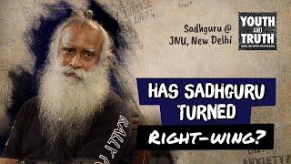 Has Sadhguru Turned Right-wing?
