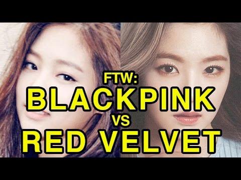 For The Win: BLACKPINK vs Red Velvet