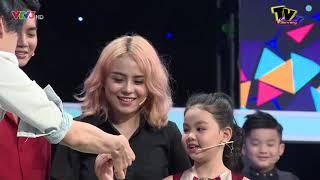 Bé Tâm Anh Gia đình là số 1 bày cách cho Thái Trinh, Quang Đăng ăn bánh | Thử Tài Ứng Biến #53
