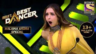 Sonal के धमाकेदार Performance से हुई Malaika Shock! | India's Best Dancer | Malaika Arora Special