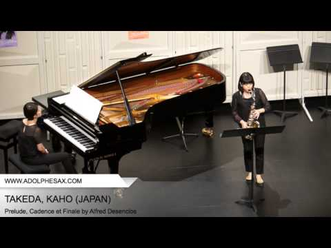 Dinant 2014 TAKEDA Kaho (Prelude, Cadence et Finale by Alfred Desenclos)