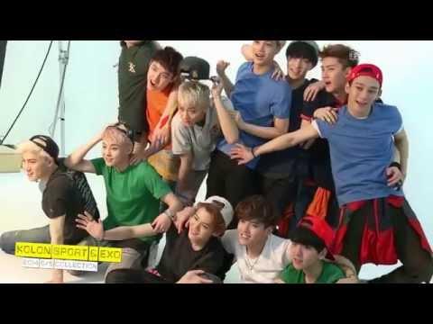 EXO Summer T-shirts Making Film_ 메이킹 영상