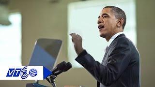 Bí mật chiếc máy nhắc chữ của Tổng thống Obama   VTC