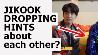 Is Jungkook hinting that Jikook is real? | JIKOOK analysis