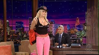 Anna Nicole Smith The Tonight Show with Jay Leno