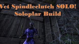 Soloing Veteran Spindleclutch on my Magic Templar AKA Soloplar