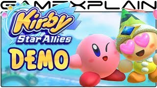 Kirby Star Allies Demo - 30 Minutes of Gameplay!