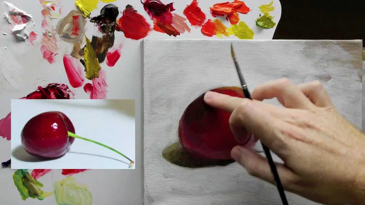 Beginners Acrylic Still Life Painting Techniques Demo