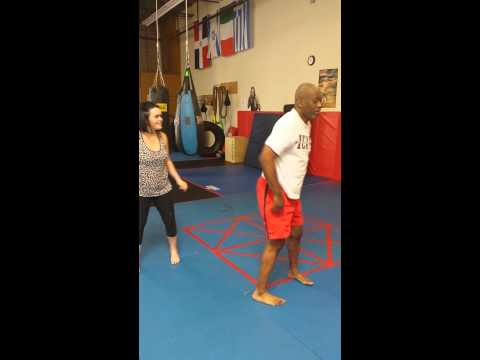 Women's Self Defense Personal Session.
