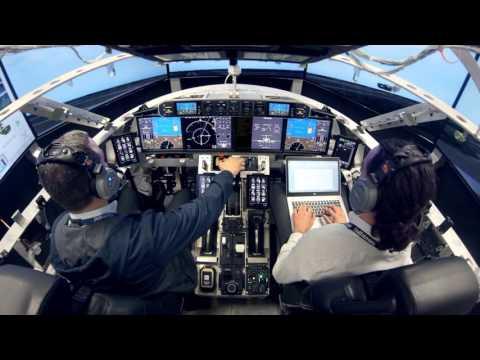 G600 Iron Bird First Flight