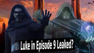 Crazy Star Wars Episode 9 Leak! Luke Does THIS to Kylo Ren??