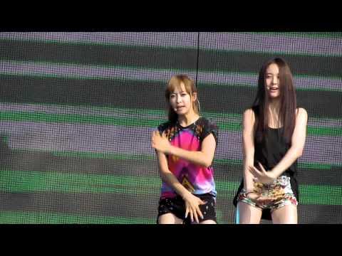 [Fancam/직캠] Yeosu Super Concert F(X)  - Electric Shock Rehearsal