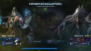 StarCraft 2 [PC] - Co-op: Miner Evacuation (Wheel of Misfortune Mutation) [Karax/Dehaka]