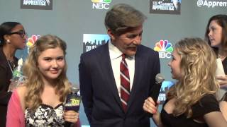 Geraldo Rivera on the Celebrity Apprentice and His Start in Journalism!