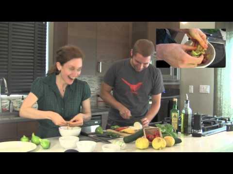 Garden to Table - Episode 2 - Cucumber & Mint Caprese