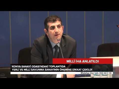 Türkiye'nin ilk yerli ve milli İHA tecrübesi Konya'da anlatıldı