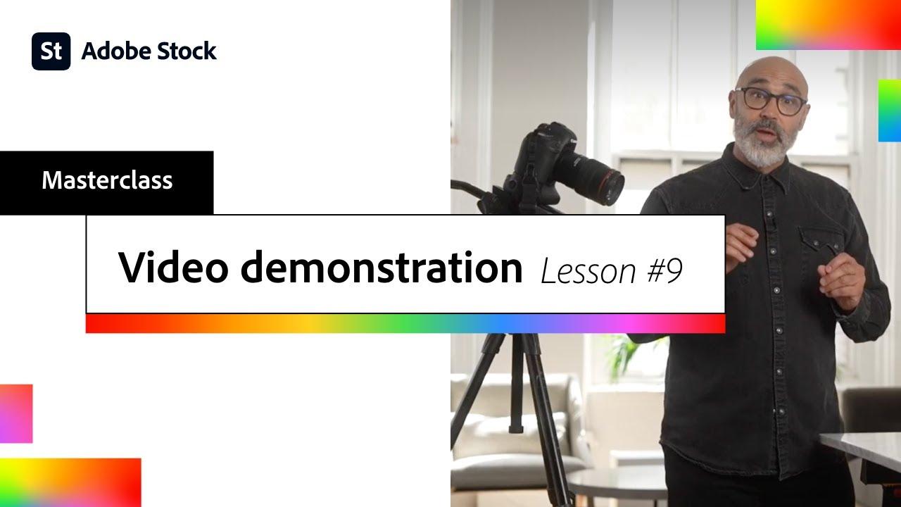 Video Demonstration, Lesson #9 | Adobe Creative Cloud