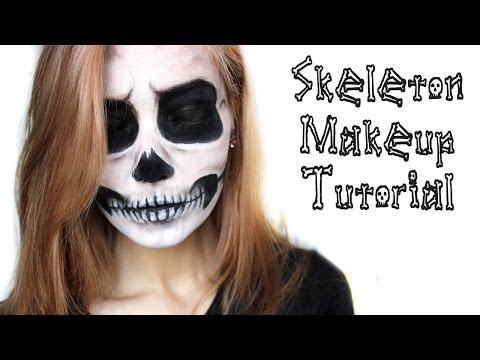 Baixar Skull Makeup Halloween Tutorial | AHS Tate Inspired