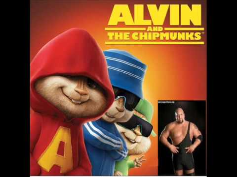 Alvin Y Las Ardillas Cantan La Cancion De Big Show ( Crank It Up )