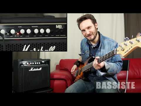 Test : Marshall MB15 - Bassiste Magazine #47