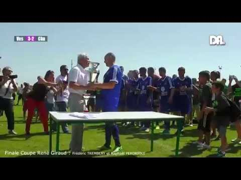 Football: Finale Coupe René Giraud 2014