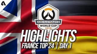 United Kingdom vs Germany | Overwatch World Cup 2018 Paris Qualifier Day 1