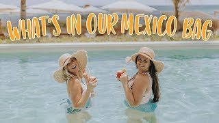 What's In Our Mexico Bag! Ellie And Bonnie