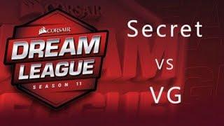 【斯德哥尔摩major】胜者组 VG VS Secret BO3 第一局