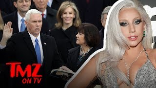 Lady Gaga Comes After Mike Pence & His Wife! | TMZ TV