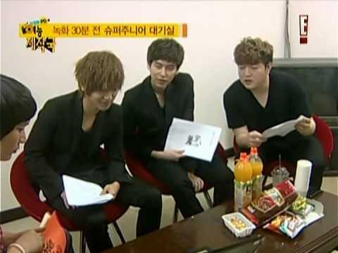 100729 SJH's Variety World with Super Junior, MBLAQ (1/5)