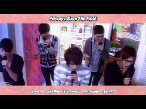 DBSK 동방신기 - Love In The Ice live (live) [eng + rom + hangul + karaoke sub]